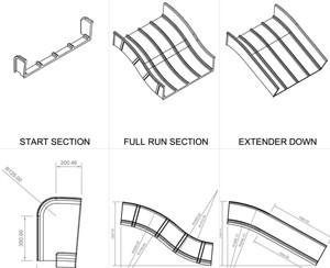 Play Slide Detail Drawings